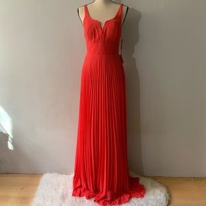 NWT - Coral Long Dress Gown